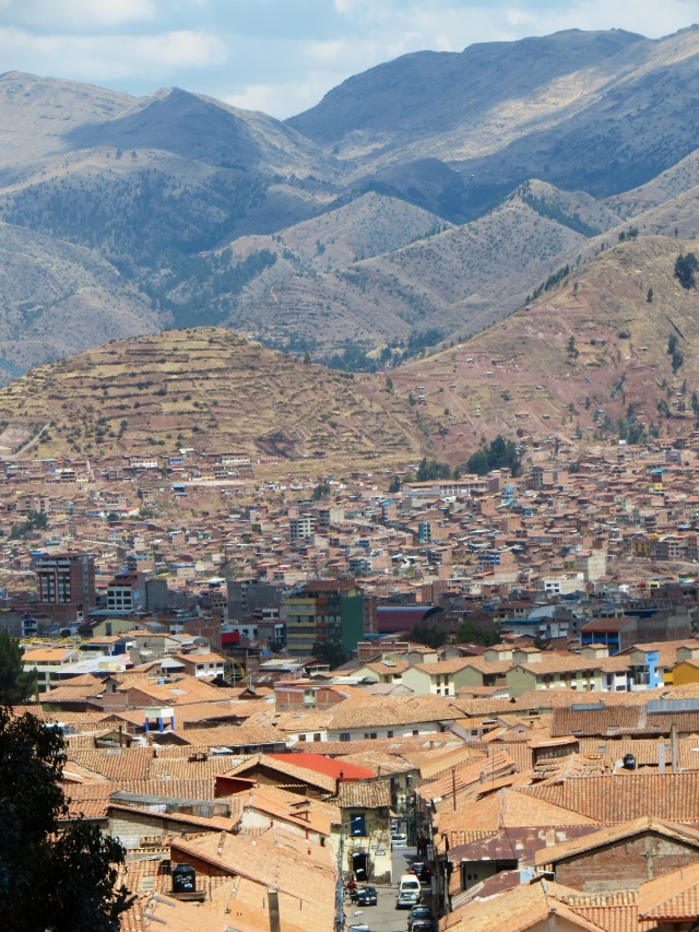 View across Cusco