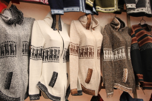 Llama jumpers for sale everywhere...even I bought one!