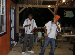 Garifuna night at Tranquillo